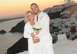 Тара Рид: скромная свадьба в Греции