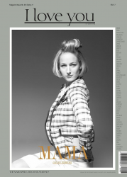 Лили Собески на обложках журналов