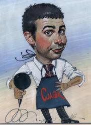 Карикатуры на Ивана Урганта