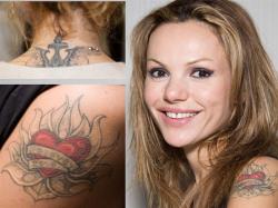 Татуировки Машы Цигаль