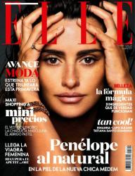 Пенелопа Крус для испанского выпуска Elle, февраль 2014