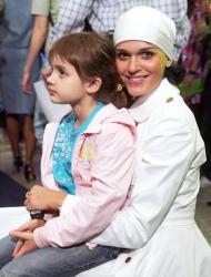 Слава с дочерью
