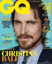 Кристиан Бейл на обложках журналов