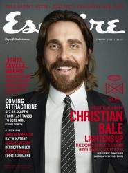 Кристиан Бейл для Esquire UK, январь 2015