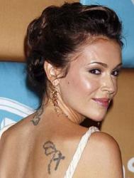 Татуировки Алиссы Милано
