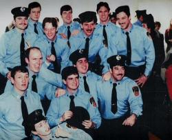Стив Бушеми в то время, когда он работал пожарным в 55 пожарной части Нью-Йорка