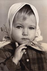 Эльвира Болгова в детстве