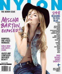 Миша Бартон для журнала Nylon Mag