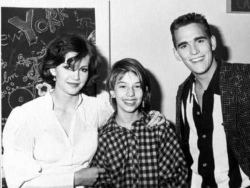Дайан Лейн, София Коппола и Мэтт Диллон, 1983 год