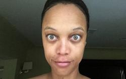 Тайра Бэнкс без макияжа