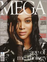 Тайра Бэнкс в фотосессии Джошуа Джордана для Mega Magazine, февраль 2014