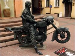 Памятники Виктору Цою