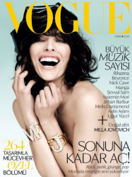 Милла Йовович для Vogue Turkey