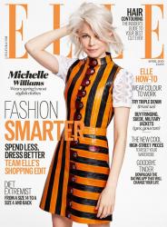Мишель Уильямс для Elle UK, апрель 2015