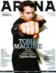 Тоби Магуайр на обложках журналов