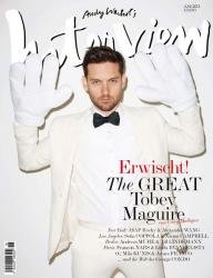 Тоби Магуайр для июньского INTERVIEW Magazine Germany (2013)