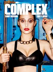 Эмми Россум для журнала Complex, февраль/март 2014