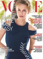 Шарлиз Терон для Vogue US, июнь 2014