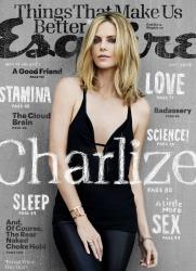 Шарлиз Терон для Esquire, май 2015