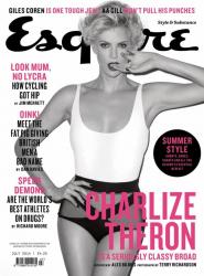 Шарлиз Терон в фотосессии Тери Ричардсона для Esquire UK, июнь 2014