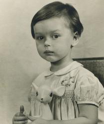 Ирина Безрукова в детстве и молодости