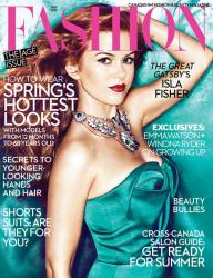 Айла Фишер для Fashion Canada