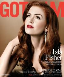 Айла Фишер для майского Gotham Мagazine (2013)