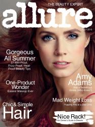 Эми Адамс в июльском номере ALLURE Magazine