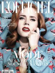 Эми Адамс для L'Officiel Paris N 982, февраль 2014
