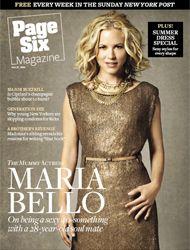 Мария Белло на обложках журналов