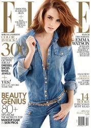 Эмма Уотсон для Elle US, апрель 2014