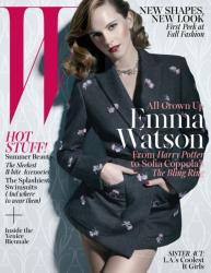 Эмма Уотсон для летнего W Magazine (Июнь\Июль 2013)