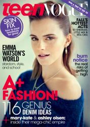 Эмма Уотсон в августовском номере журнала TEEN VOGUE