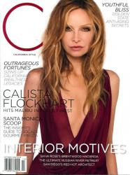 Калиста Флокхарт на обложках журналов