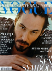 Киану Ривз для Vogue Hommes International