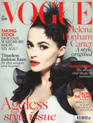 Хелена Бонэм Картер для июньского Vogue UK