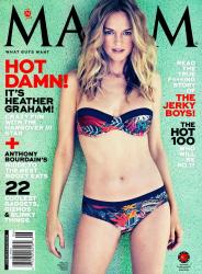 Хизер Грэм для июньского Maxim USA (2013)