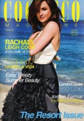 Рейчел Ли Кук на обложках журналов