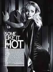 Рэйчел МакАдамс для журнала Elle US