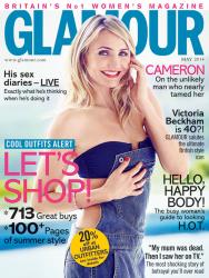 Камерон Диаз для Glamour UK, май 2014