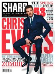 Крис Эванс на обложках журналов