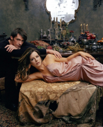 Кейт Бекинсейл и Хью Джекман в фотосессии для журнала Empire