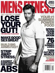 Хью Джекман для летнего выпуска журнала Men's Fitness (июль\август 2013)
