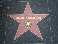 Звезда Сьюзан Сарандо на Аллее славы