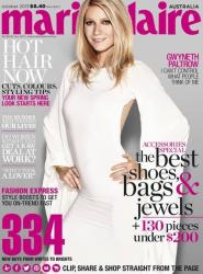 Гвинет Пэлтроу для Marie Claire Australia, октябрь 2013