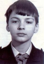 Даниил Страхов в детстве