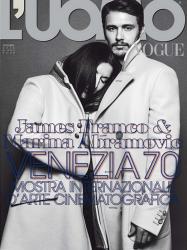 Джеймс Франко и Марина Абрамович для L'Uomo Vogue, сентябрь 2013