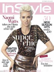 Наоми Уоттс в фотосессии Микаэлы Россато для журнала INSTYLE UK, октябрь 2013
