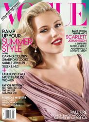 Скарлетт Йоханссон в Vogue US