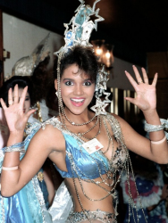 Хэлли Берри на конкурсе красоты «Мисс США 1986»